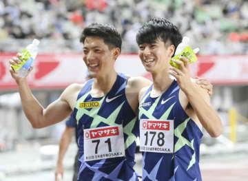 多田初優勝、山県3位で五輪へ 陸上日本選手権、北口も代表入り 画像1