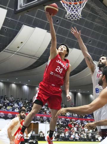 バスケ、日本はイランに敗れる 男子の強化試合 画像1