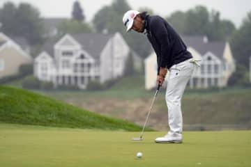 小平智は20位に後退 米男子ゴルフ第2日 画像1