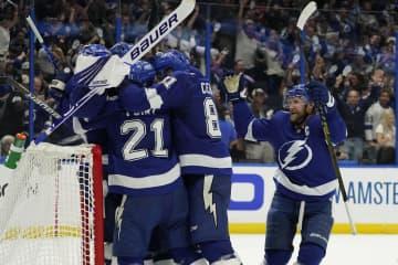 王者ライトニングが決勝へ NHLのプレーオフ 画像1