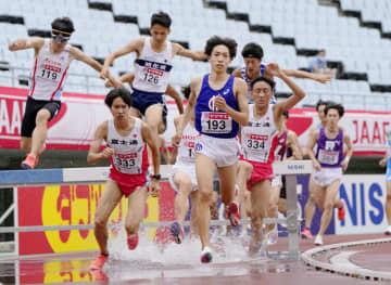 3000m障害、三浦ら五輪へ 陸上日本選手権第3日 画像1