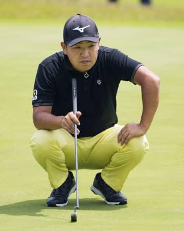 男子ゴルフ、時松が首位キープ ダンロップ福島OP第3日 画像1