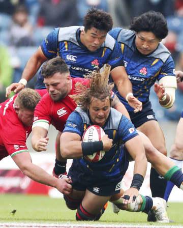 日本、ライオンズに敗れる 10―28、歴史的な一戦 画像1