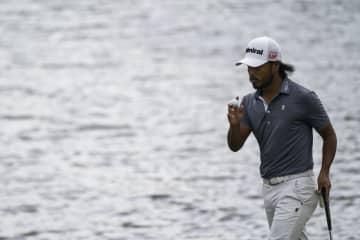 小平智、首位と3打差の9位浮上 米男子ゴルフ第3日 画像1