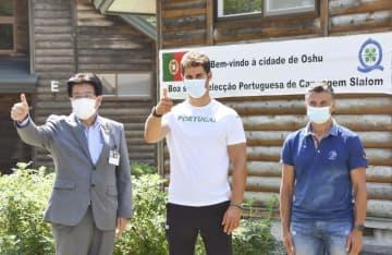 ポルトガル代表が岩手入り 奥州市で歓迎セレモニー 画像1