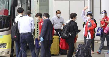 シンガポール卓球代表が来日 静岡で合宿「日本に感謝」 画像1