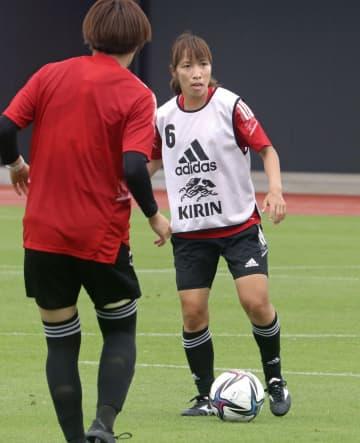 なでしこ中島「攻撃の連動を」 サッカー女子代表、合宿第7日 画像1