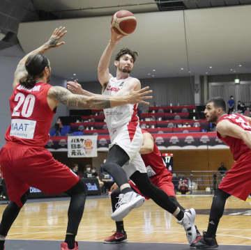 バスケ男子日本、イランに勝つ 強化試合第3戦 画像1