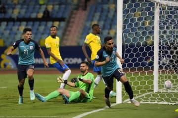 エクアドルなど8強入り サッカー南米選手権 画像1