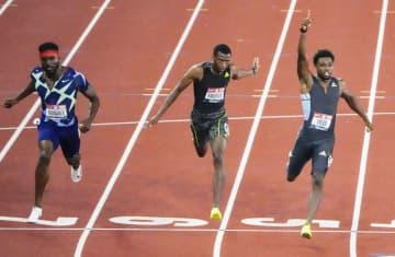 男子200mはノア・ライルズV 陸上の米国代表選考会 画像1