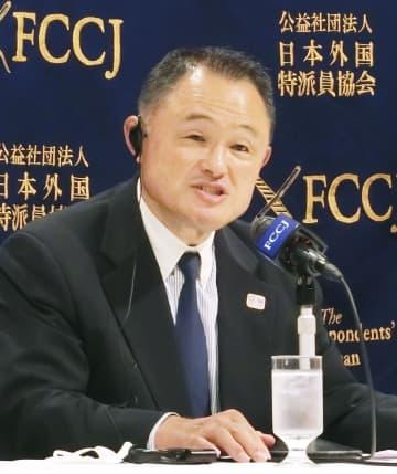 JOCの山下会長、五輪へ決意 「選手の活躍が希望に」 画像1