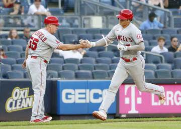 大谷は5打数1安打1打点 ヤンキース戦 画像1