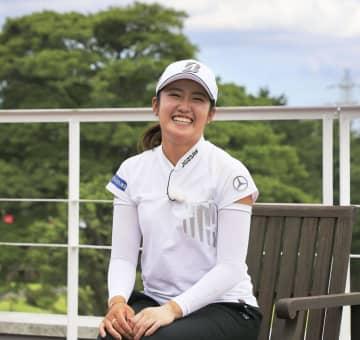 女子ゴルフ稲見「貴重で名誉」 五輪代表決定に喜び 画像1