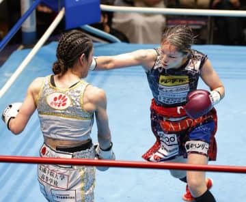 吉田が世界王座返り咲き WBO女子Sフライ級 画像1