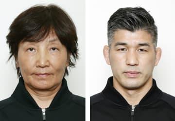 五輪、宇津木監督が指導者宣誓 開会式、井上監督と 画像1