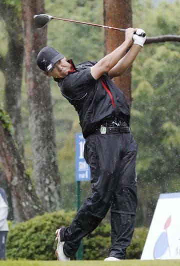 ゴルフ、木下裕が首位、石川7位 日本プロ第1日 画像1
