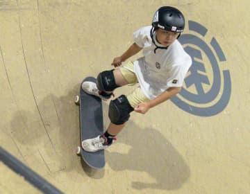スケボー岡本「悔いなく滑る」 女子パークのV候補 画像1