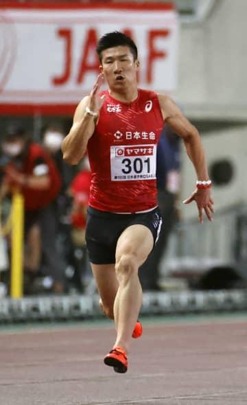 五輪リレー代表に桐生ら選出 200mはサニブラウンら 画像1
