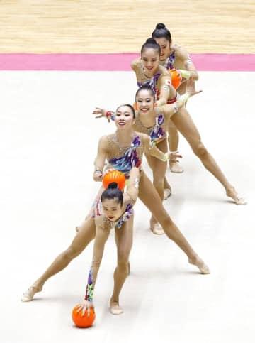 杉本ら5人が代表、新体操団体 五輪で初のメダル獲得へ 画像1