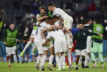 イタリア、ベルギー破り準決勝へ スペイン4強、欧州選手権 画像1