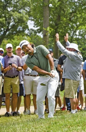 小平智は崩れて予選落ち 松山英樹は棄権、米男子ゴルフ 画像1