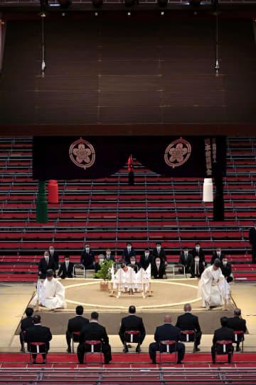 名古屋場所で土俵祭り 1年4カ月ぶり地方開催 画像1