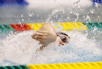 競泳、池江が復帰後初の日本新 非五輪種目の200mリレー 画像1