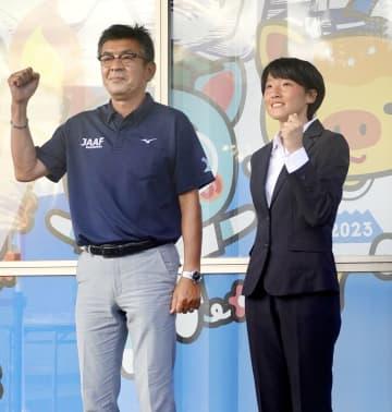 鶴田「日本記録目指す」 陸上女子リレーで五輪へ 画像1
