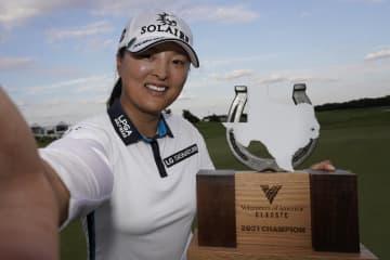 米女子ゴルフ、上原は32位 高真栄が通算8勝目 画像1