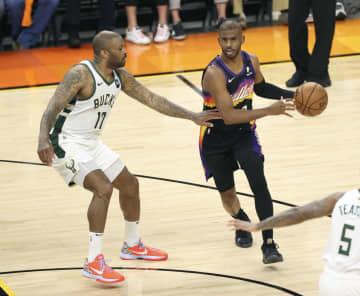 NBA決勝、サンズが第1戦勝利 バックス下す 画像1