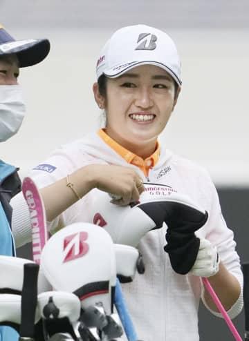 ゴルフ五輪代表の稲見「上位に」 2試合予選落ち、改善に取り組む 画像1