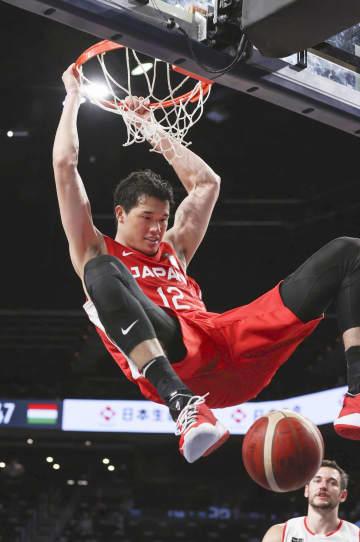 バスケ、日本はハンガリーに快勝 男子強化試合 画像1