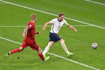 イングランド、初の決勝進出 サッカー欧州選手権 画像1