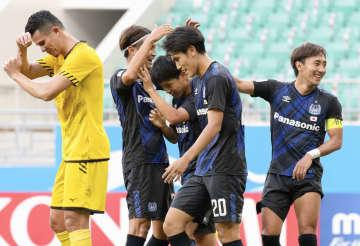 G大阪、8得点の大勝 2位で1次リーグ突破目指す 画像1