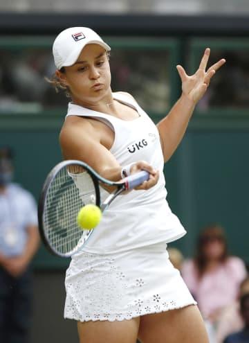 バーティ、初の決勝進出 ウィンブルドン女子シングルス 画像1