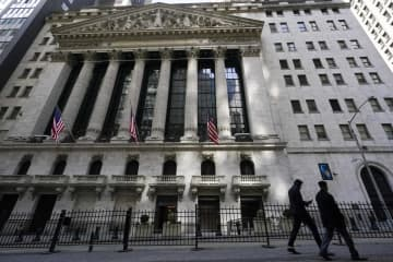 NY株反落、259ドル安 世界経済の回復遅れ懸念 画像1