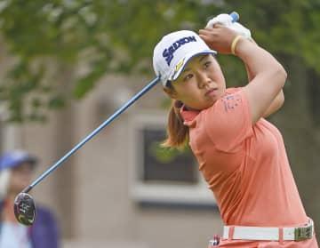 畑岡奈紗、61で首位発進 米女子ゴルフ第1日 画像1