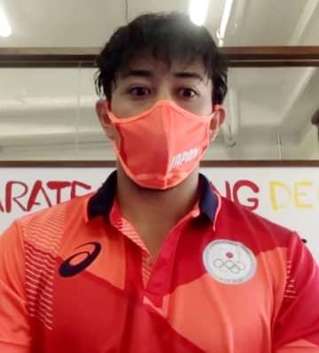 空手の喜友名「力を出し切る」 東京五輪代表が意気込み 画像1