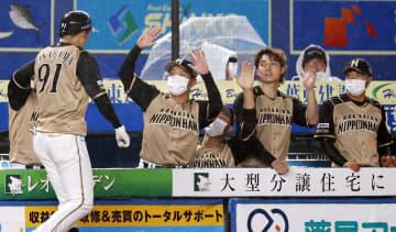 ロ1―6日(9日) 日本ハムが3連勝 画像1