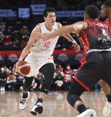 バスケ強化試合、ベルギーに惜敗 五輪男子代表 画像1
