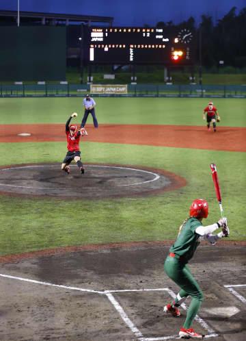 日本代表、メキシコに1勝1敗 ソフトボール、練習試合 画像1