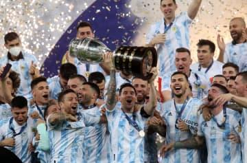 アルゼンチンが28年ぶりV サッカー南米選手権 画像1