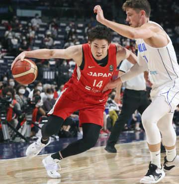 バスケ男子、フィンランドに黒星 五輪出場日本の強化試合 画像1