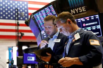 NY株、連日の最高値 3万4996ドル、業績期待 画像1
