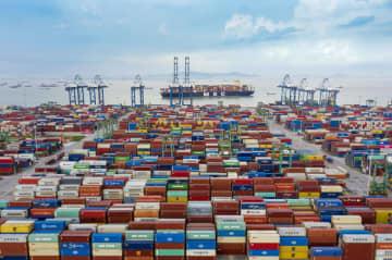 中国、上半期の輸出38%増 外需の回復が持続 画像1