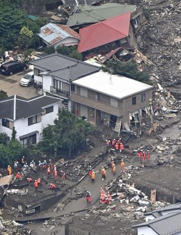 地銀62行で熱海市支援 大雨被災の義援金受け付け 画像1