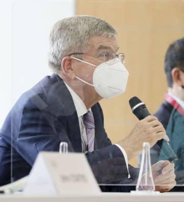 バッハ氏「中国の人々」と間違い 橋本氏との会談で 画像1