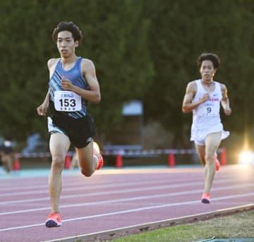 陸上男子5000mは三浦が優勝 ホクレン中長距離第4戦 画像1