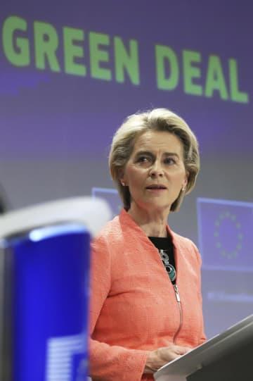 EU、35年にガソリン車禁止 26年国境炭素税導入、世界初 画像1