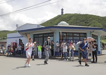 聖火、東京で初の公道リレー 7日目、三宅島からスタート 画像1